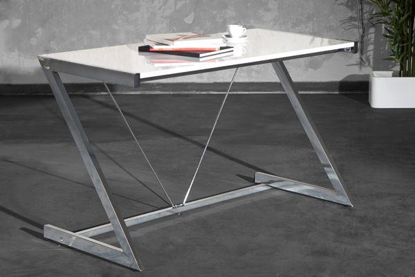 schreibtisch design weis, industrial design schreibtisch big deal weiss hochglanz 125cm used, Design ideen