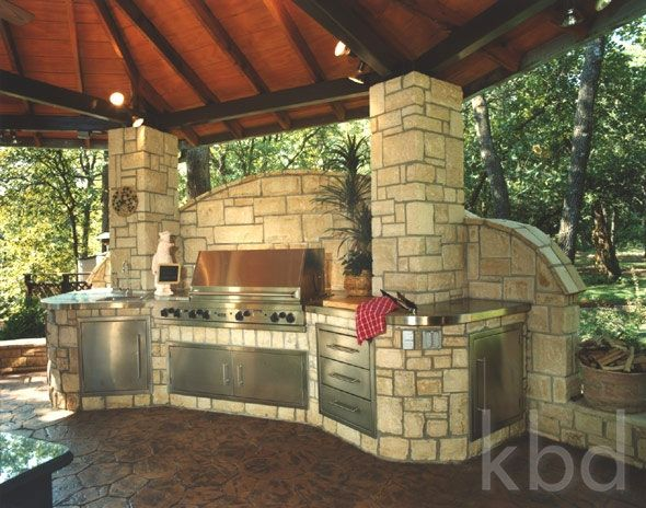 9 must have outdoor kitchens kitchens backyard and patios for Kitchen design must haves