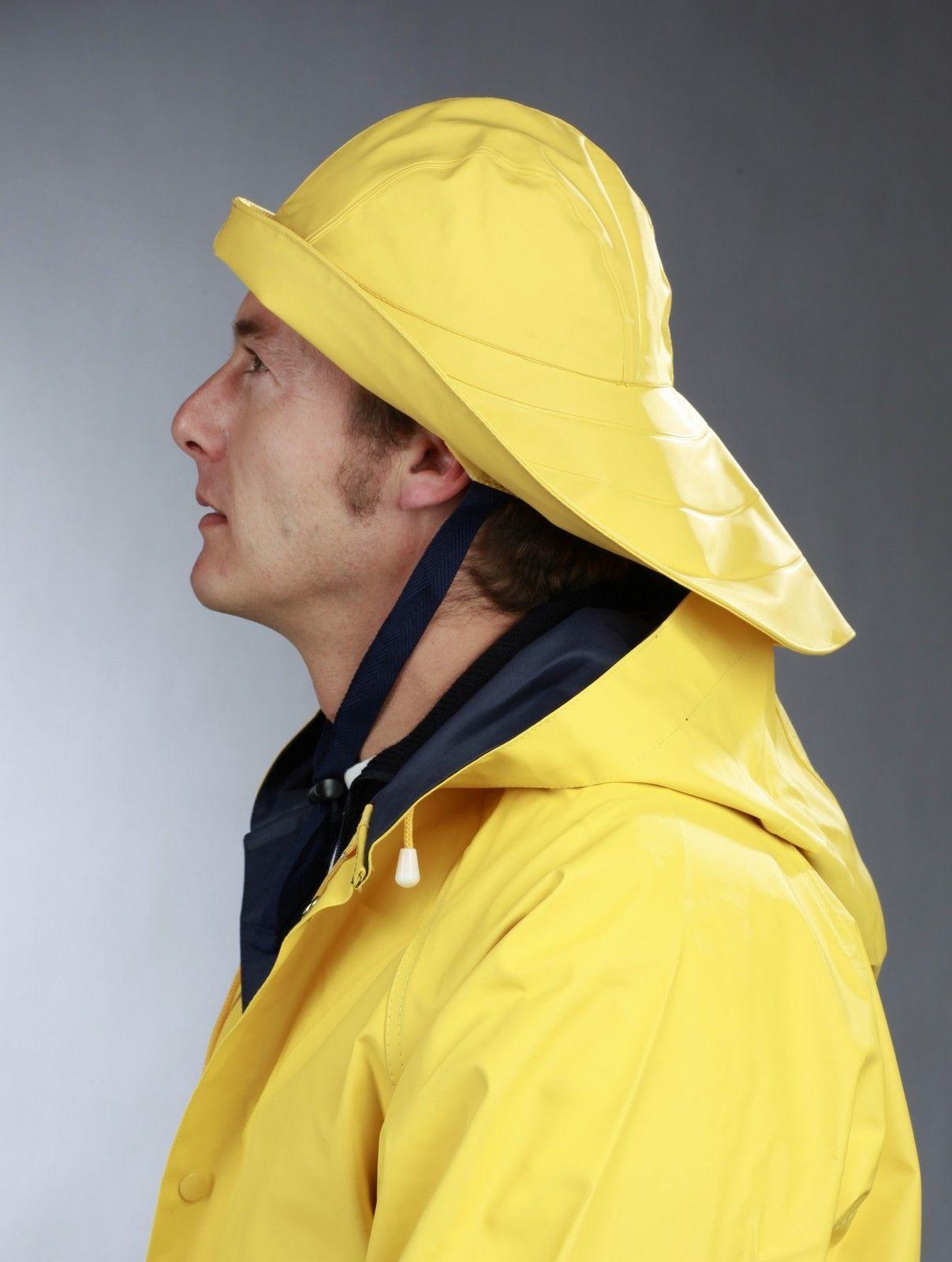 Details zu Südwester Modas gelb alle Größen Regenmütze Regenhut ...