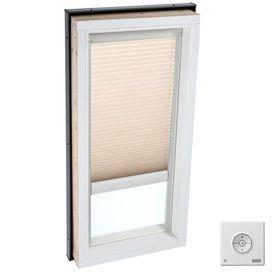 Velux 22 5 In X 46 5 In Solar Skylight Light Filtering Blind For