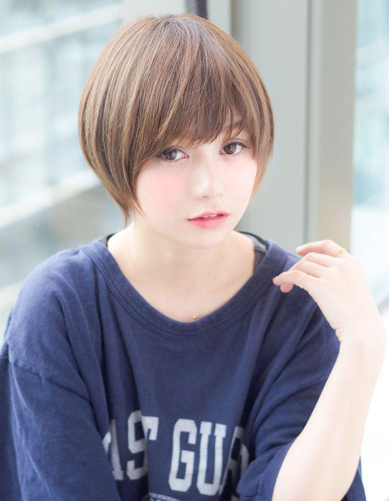 小顔ラインショート Tk 103 ヘアカタログ 髪型 ヘアスタイル