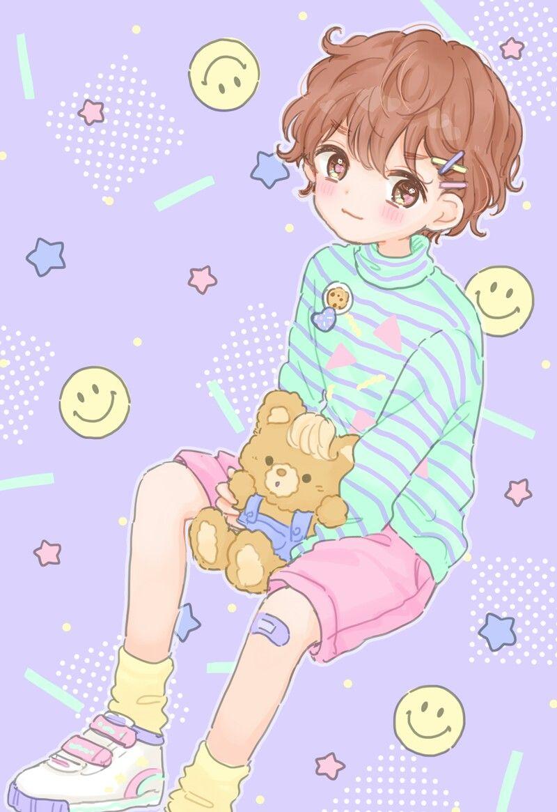 Картинки аниме маленького мальчика