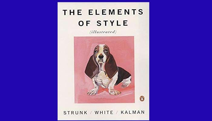 Download Elements Of Style Book Pdf Jr Strunk And E B White