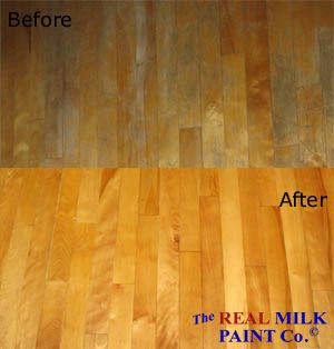 How To Refinish Floors With Tung Oil Before After Pure Photo