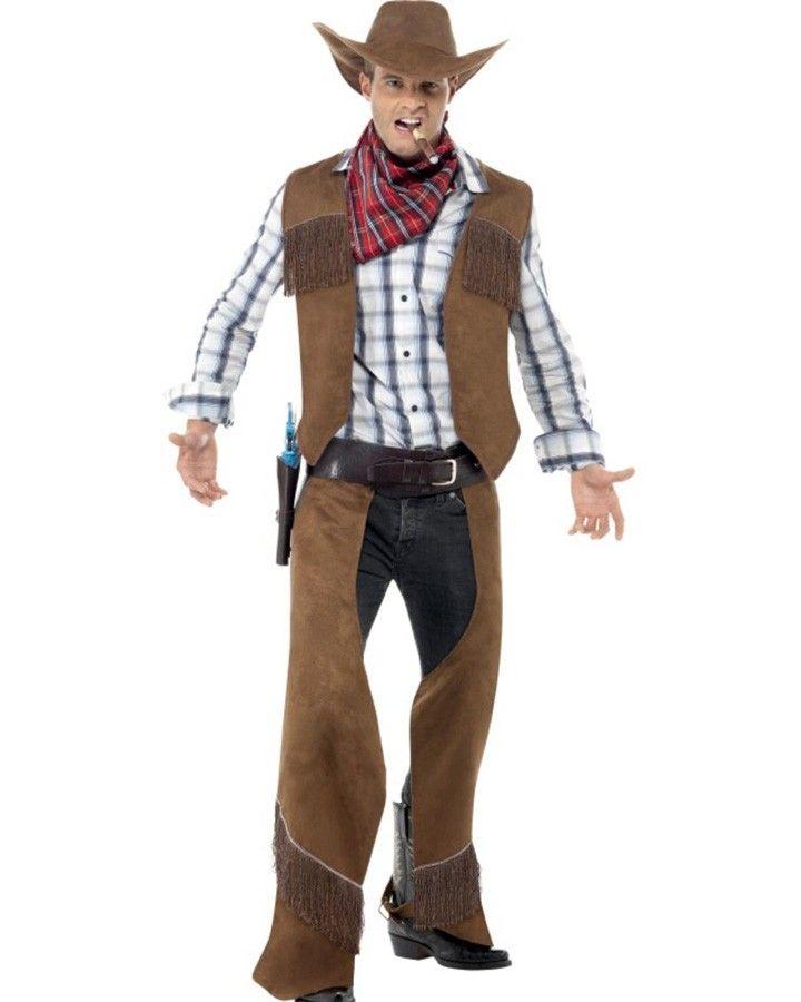Fringe Cowboy Mens Costume Couple\u0027s Things Pinterest Cowboys - halloween costumes ideas men