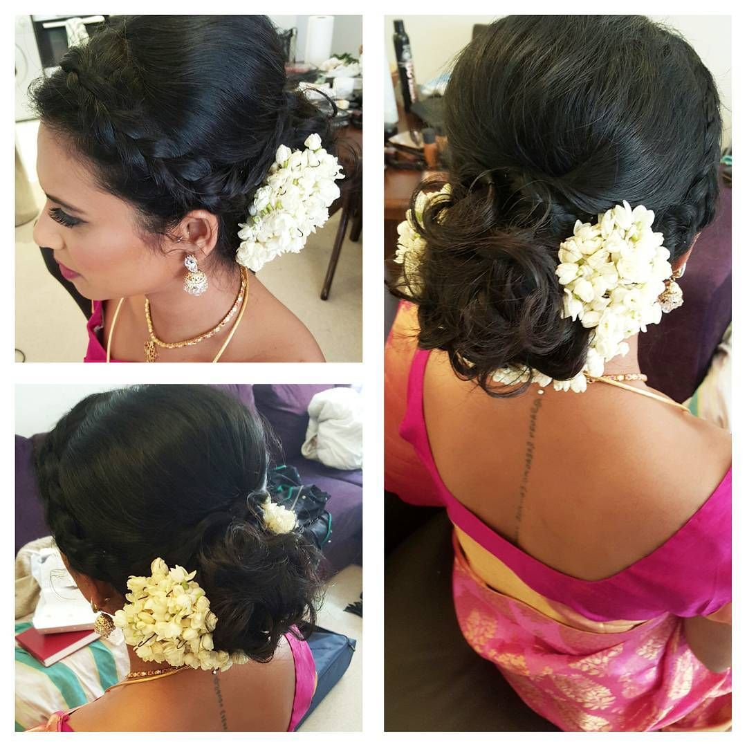 Sharon S Hair Tamil Mua Makeupartist Hairstyle Wedding Guest Makeup Wedding Guest Hairstyles Wedding Hairstyles