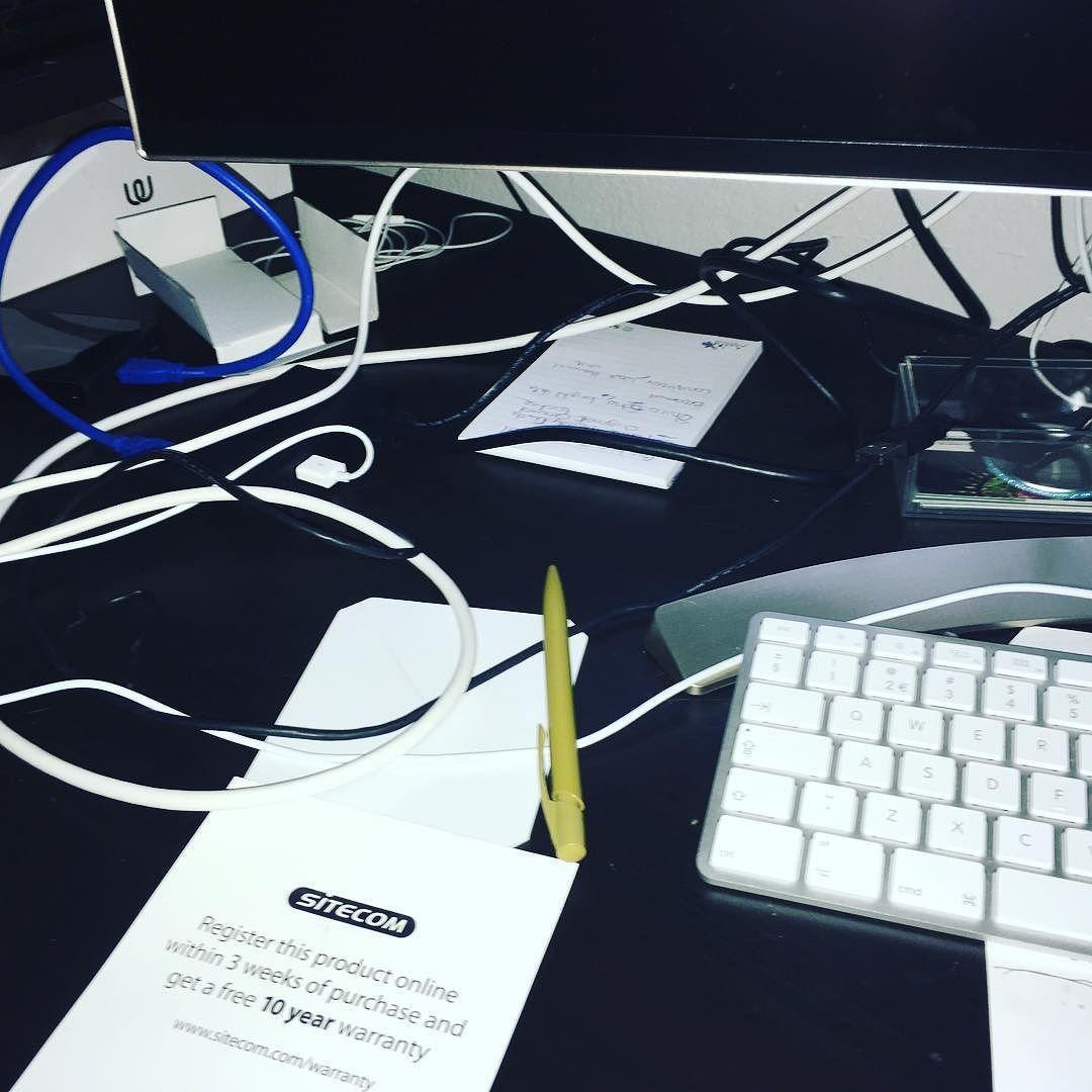#deskproblems #cabelmanagement