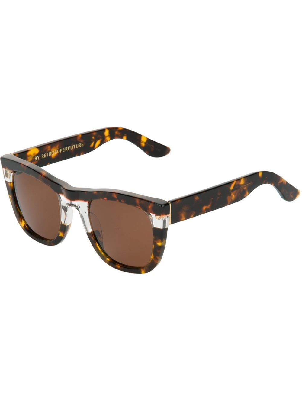 a677f8b75b4 Faux tortoise shell  Gals Strata DNI  sunglasses from Retro Super Future  featuring cat eye frames