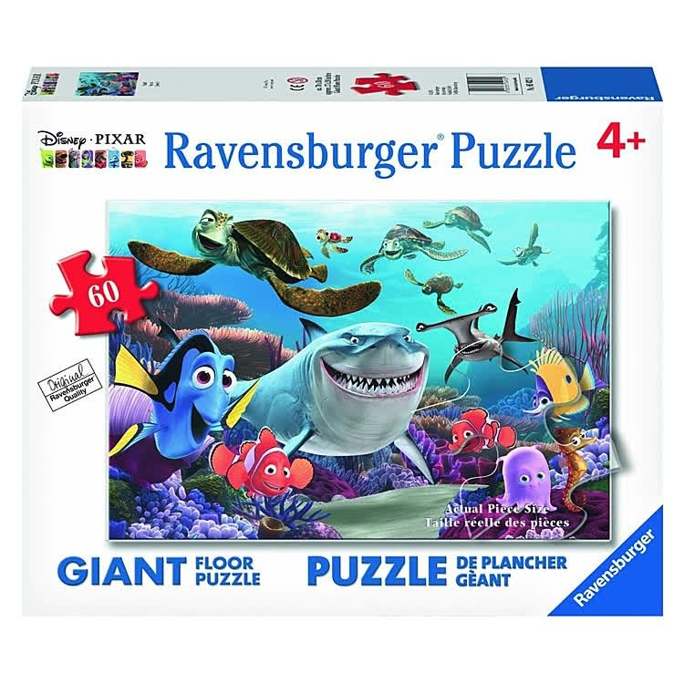 Join Your Favorite Disney Pixar Finding Nemo Characters Putting This Amazing 60 Pieces Jigsaw Floor Puzzle