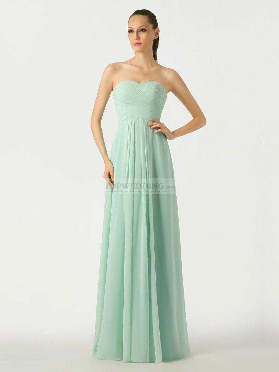 Mint sweetheart chiffon bridesmaid dress with lace up back mint sweetheart chiffon bridesmaid dress with lace up back ombrellifo Choice Image
