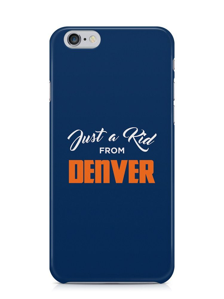 Just a Kid from Denver iPhone Case
