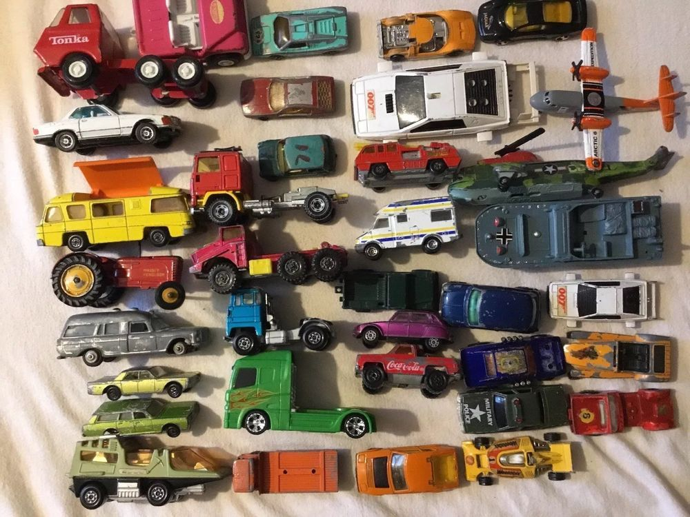 Job Lot of Toy Cars in Diecast Vehicle