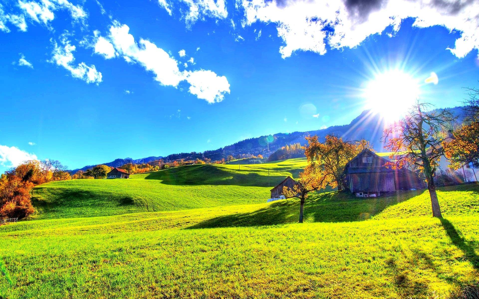 Beautiful Day Wallpaper - WallpaperSafari  |Sunny Beautiful Day