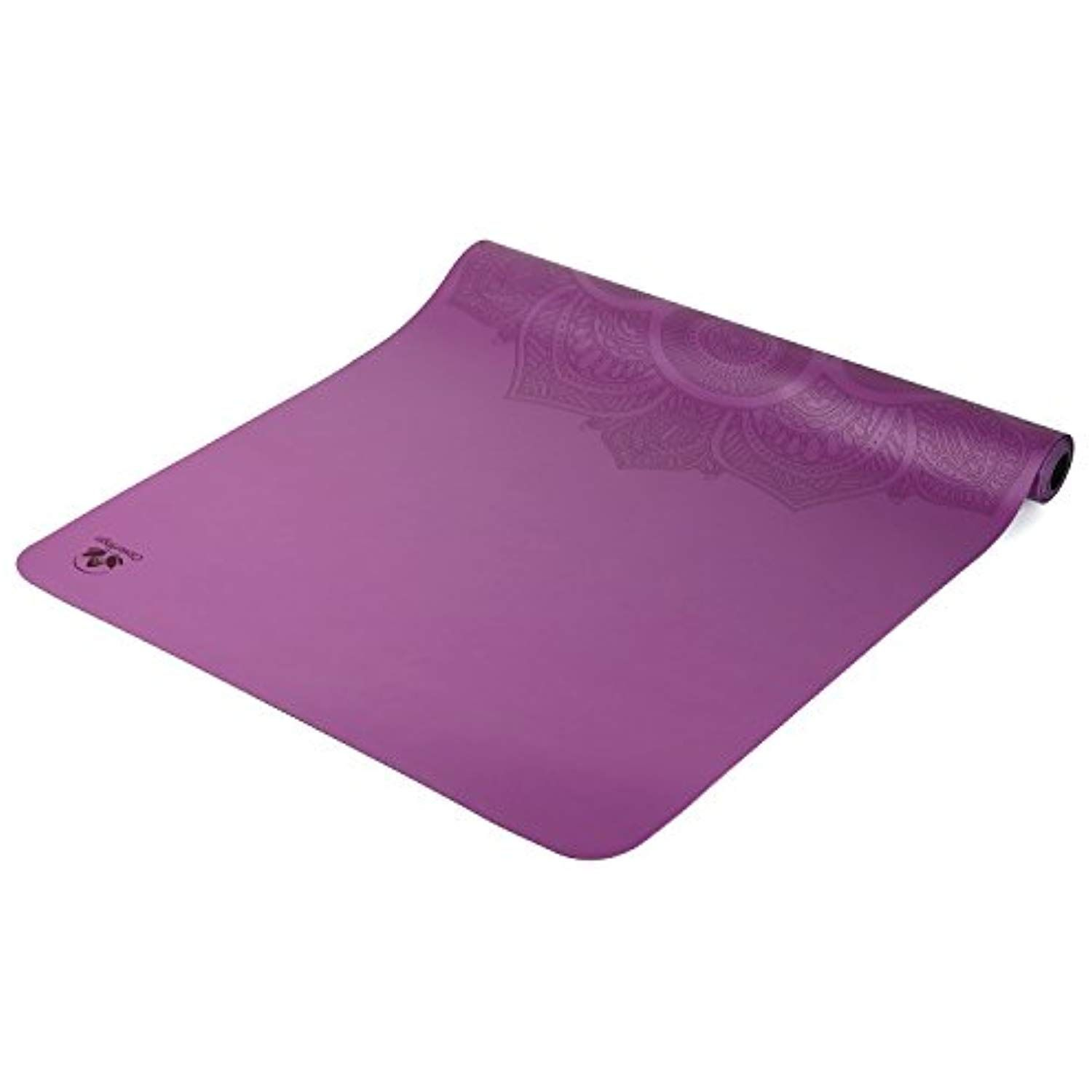 Travel Yoga Mat Lightweight Foldable And Non Slip Sticky Made From The Best Natural Rubber Ultra Thin Great For Hot Travel Yoga Mat Hot Yoga Bikram Yoga