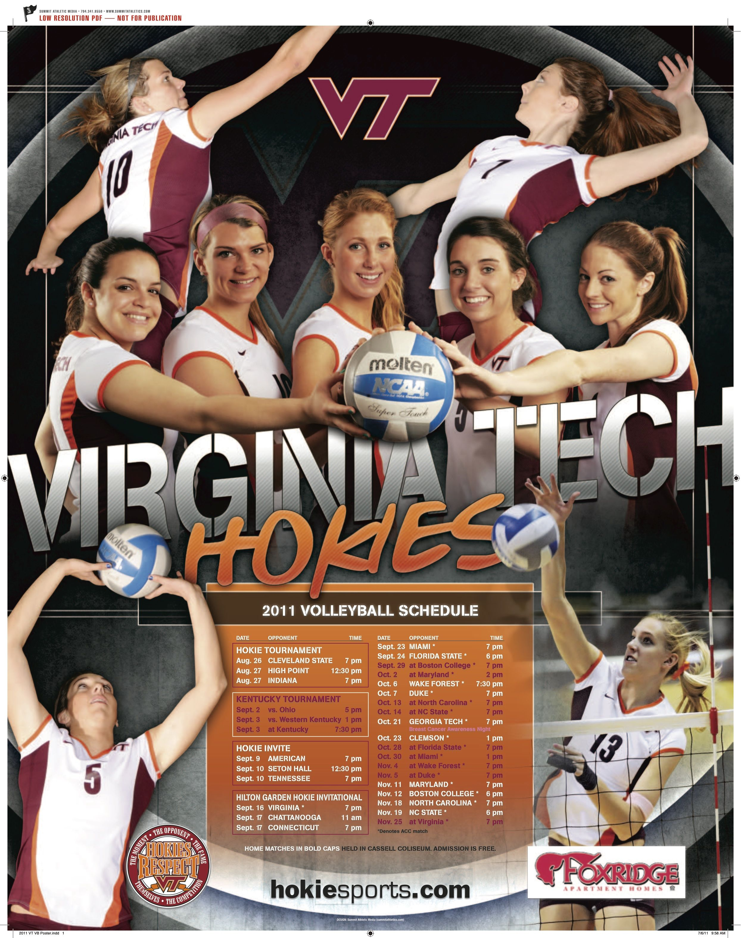 Hokiesports Com Volleyball Volleyball Volleyball Poses Volleyball Posters