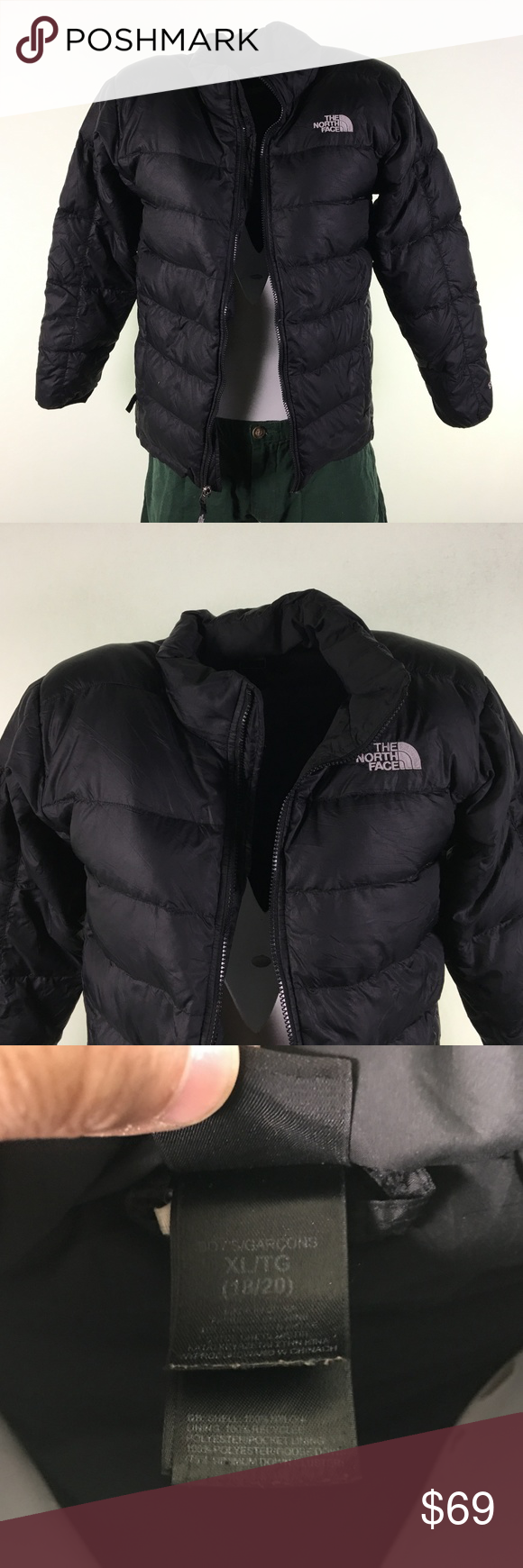 North Face Puffer Jacket Dr00646 Sz Xl North Face Puffer Jacket The North Face Jackets [ 1740 x 580 Pixel ]