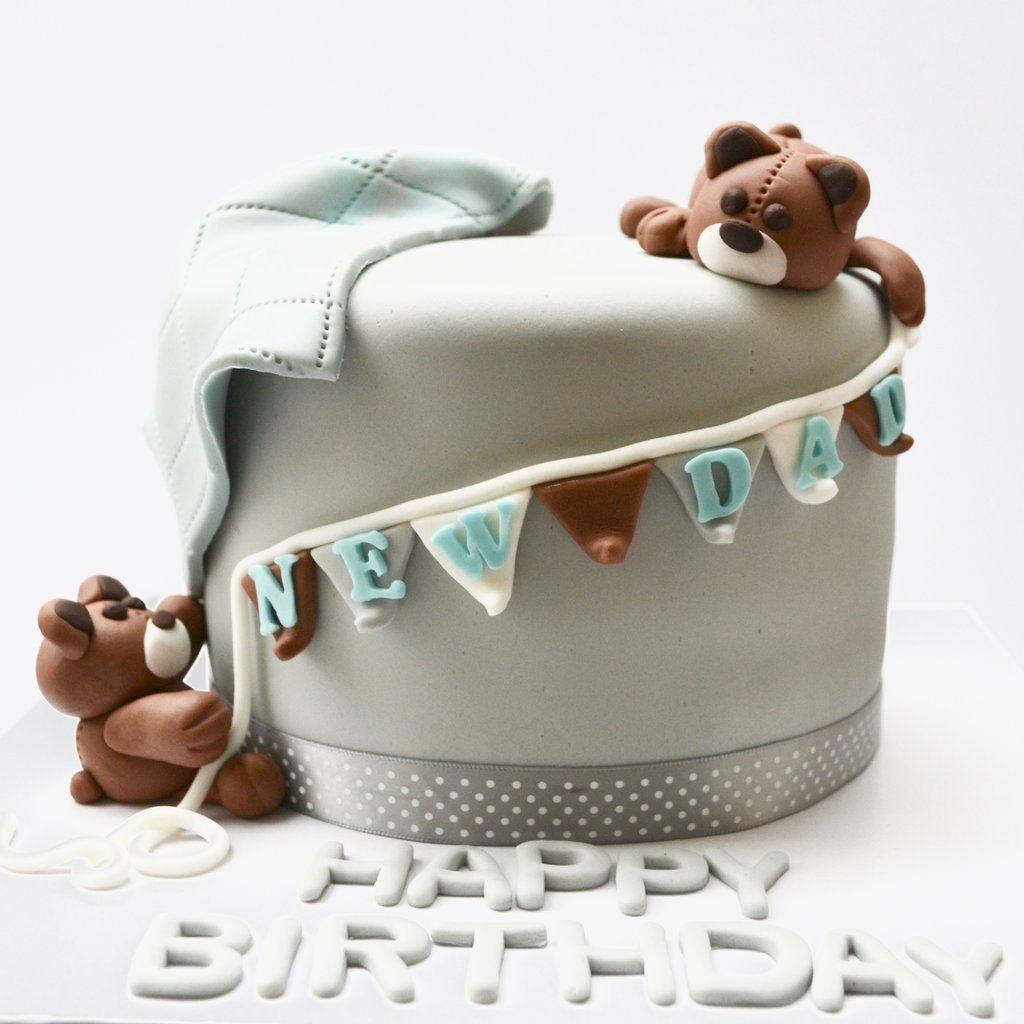 New Dad Cake Dad Cake New Dads Good Birthday Presents