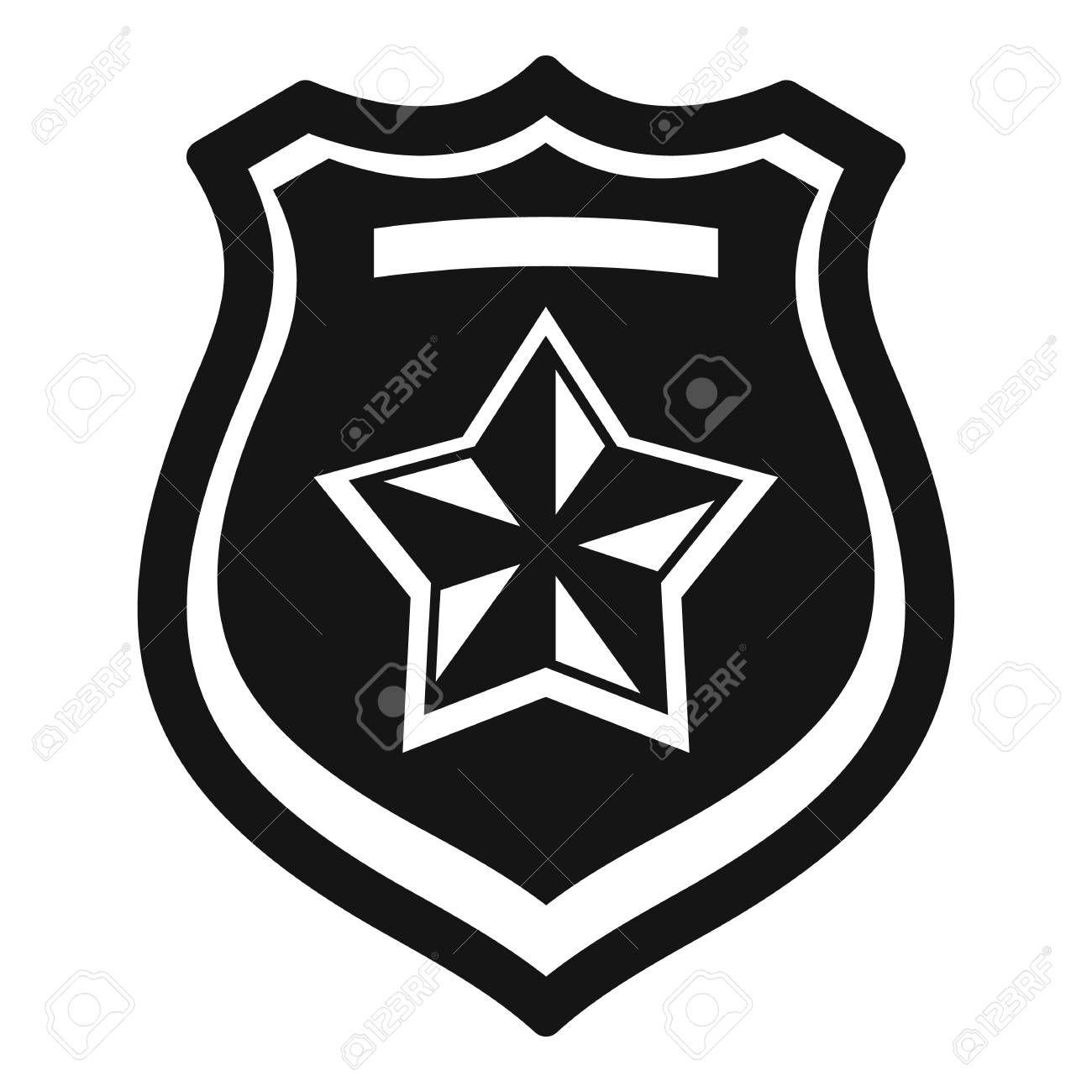 Police Emblem Icon Simple Style Illustration Affiliate Icon Emblem Police Illustration Style Style Fashion Illustration Illustration