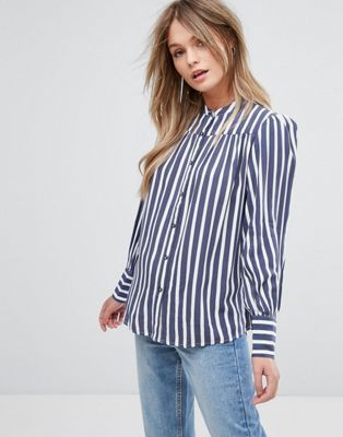 4efdcf3859a4bd New Look Stripe Shirt | Looks | Pinterest | Shirts, Blouse and Clothes