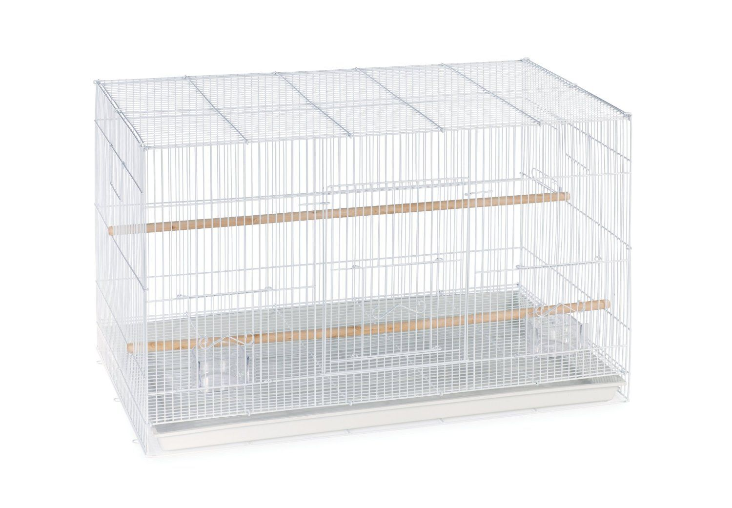 Amazon Com Prevue Pet Products Flight Cage White Bird Cage Pet Supplies Bird Cages For Sale Flight Cage Finch Cage