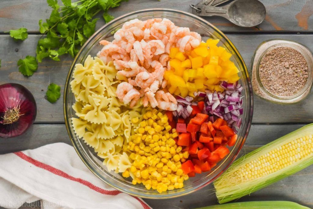 This Shrimp Fajita Pasta Salad is perfect for all of your summer picnics and BBQs. It comes together so simply with my homemade fajita seasoning and is absolutely delicious. #homemadefajitaseasoning This Shrimp Fajita Pasta Salad is perfect for all of your summer picnics and BBQs. It comes together so simply with my homemade fajita seasoning and is absolutely delicious. #homemadefajitaseasoning This Shrimp Fajita Pasta Salad is perfect for all of your summer picnics and BBQs. It comes together s #shrimpfajitas