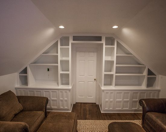 loveeee this storage option around the door... would be good for both the master and the 4th bedroom
