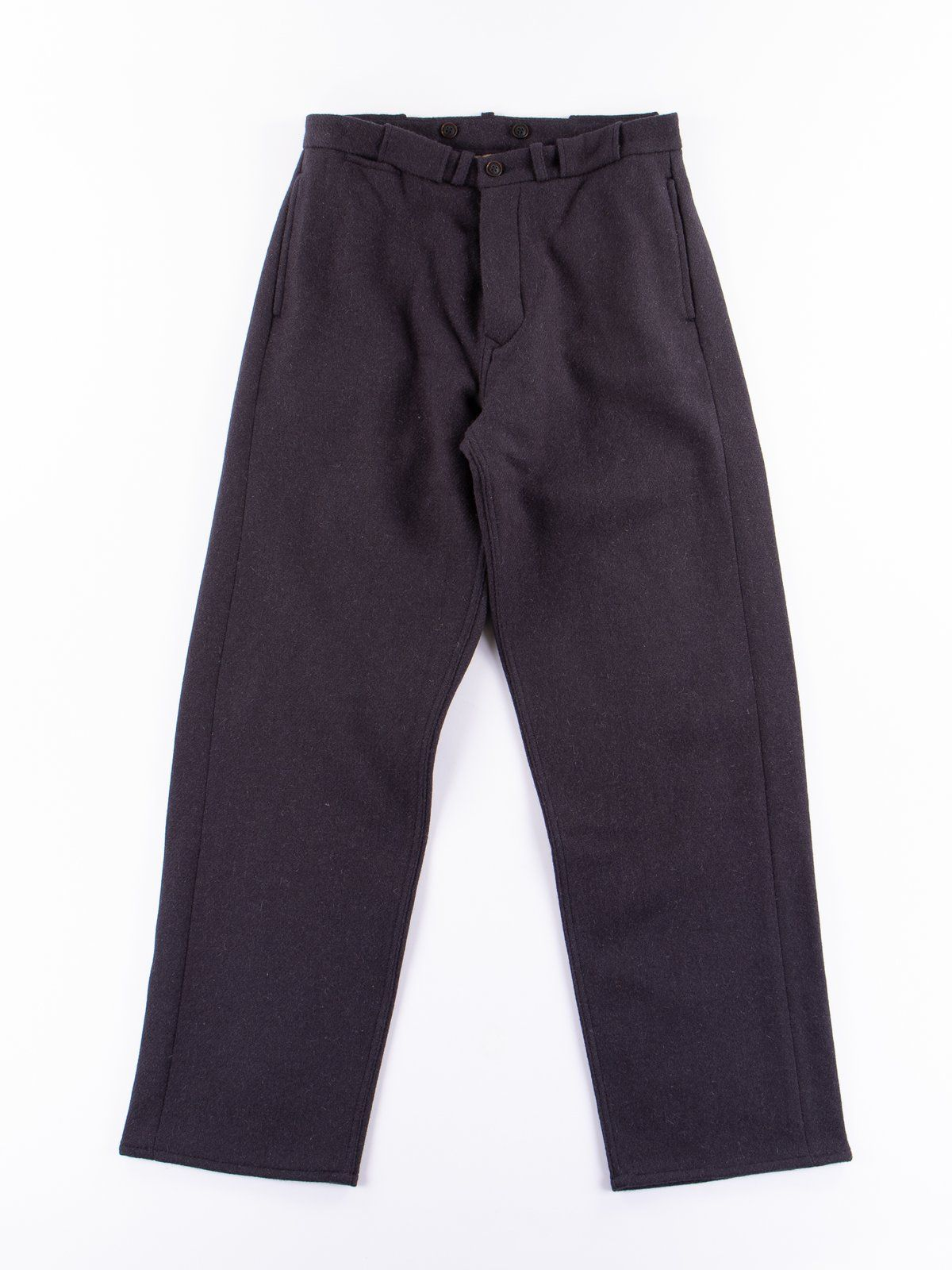 65f0cfc77d20 Buy Navy Harris Tweed PW Formal Pant by Nigel Cabourn online at The Bureau  Belfast with