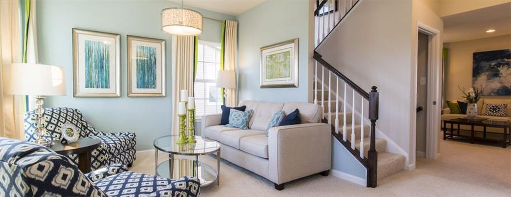 Love These Living Room Colors Navy And Gray And Blue Living