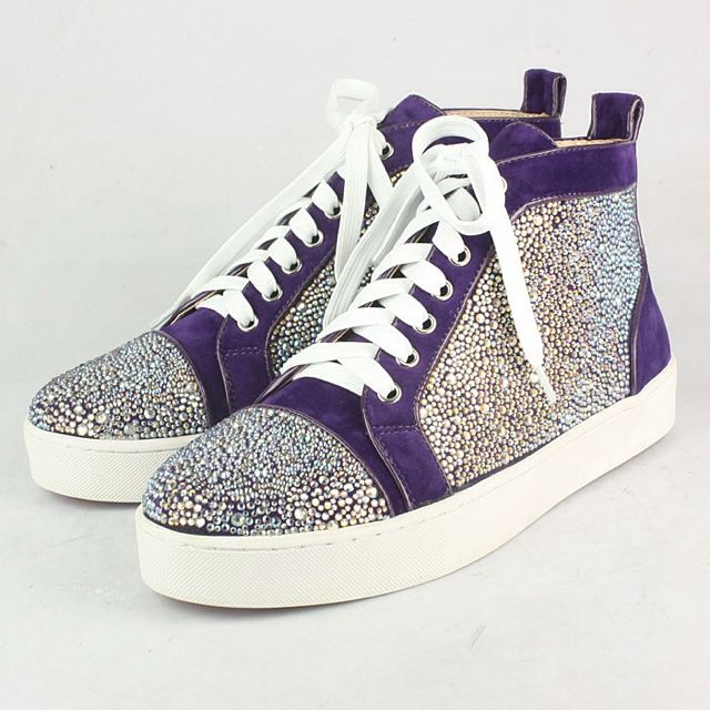 new style 1511f ba92a I want these Christian Louboutin Louis Strass Men's Flat ...