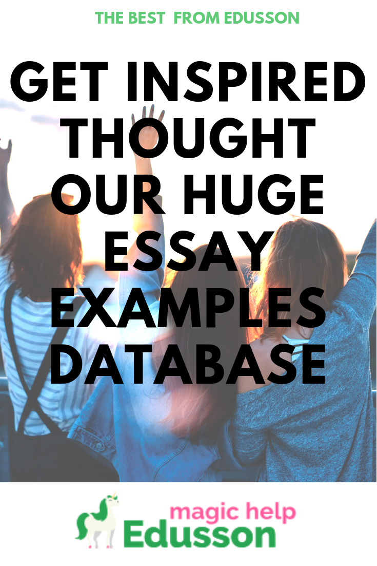 Getinspired Thought Our Huge Essay Example Database College Examples Topics Topic