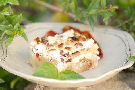 מאפה פילו, יוגורט ועגבניות מיובשות