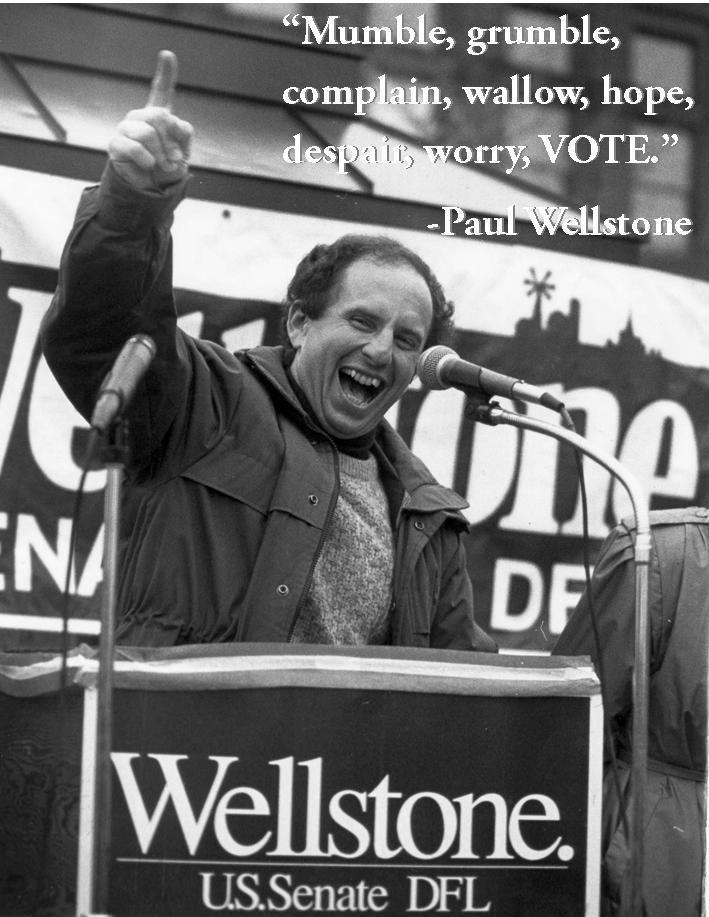 paul wellstone Paul Wellstone, you are missed. Online