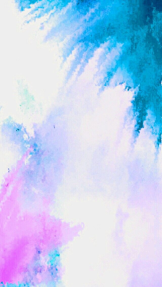 iphone wallpaper background color splash painted art version blue