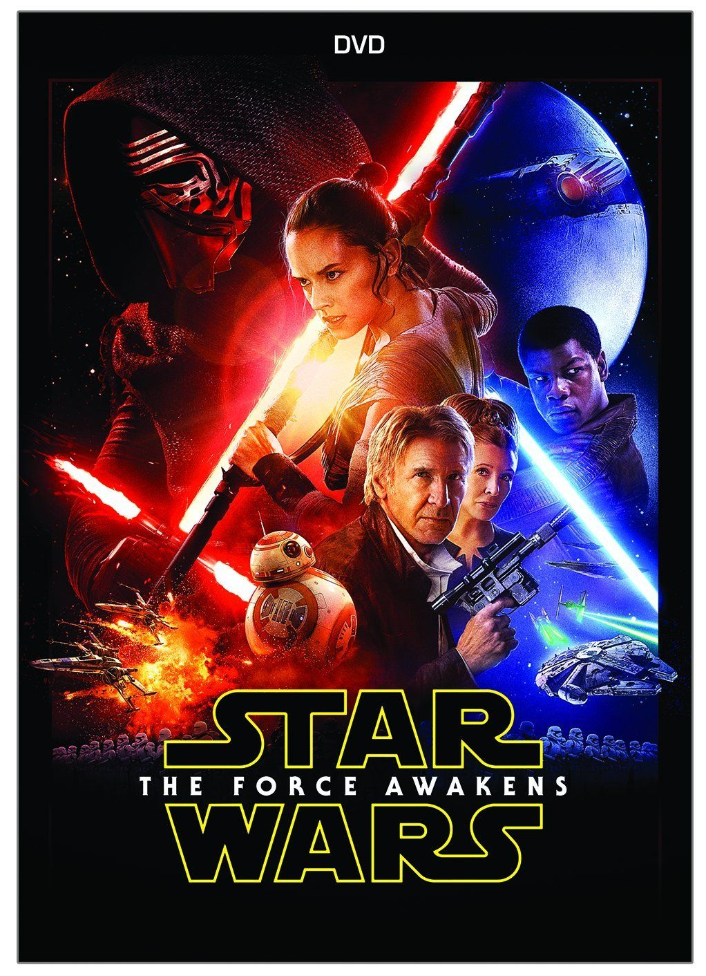 Star Wars Episode VII The Force Awakens DVD Cover | DVD and Blu-Ray ...