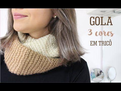 GOLA 3 CORES SUPER FÁCIL