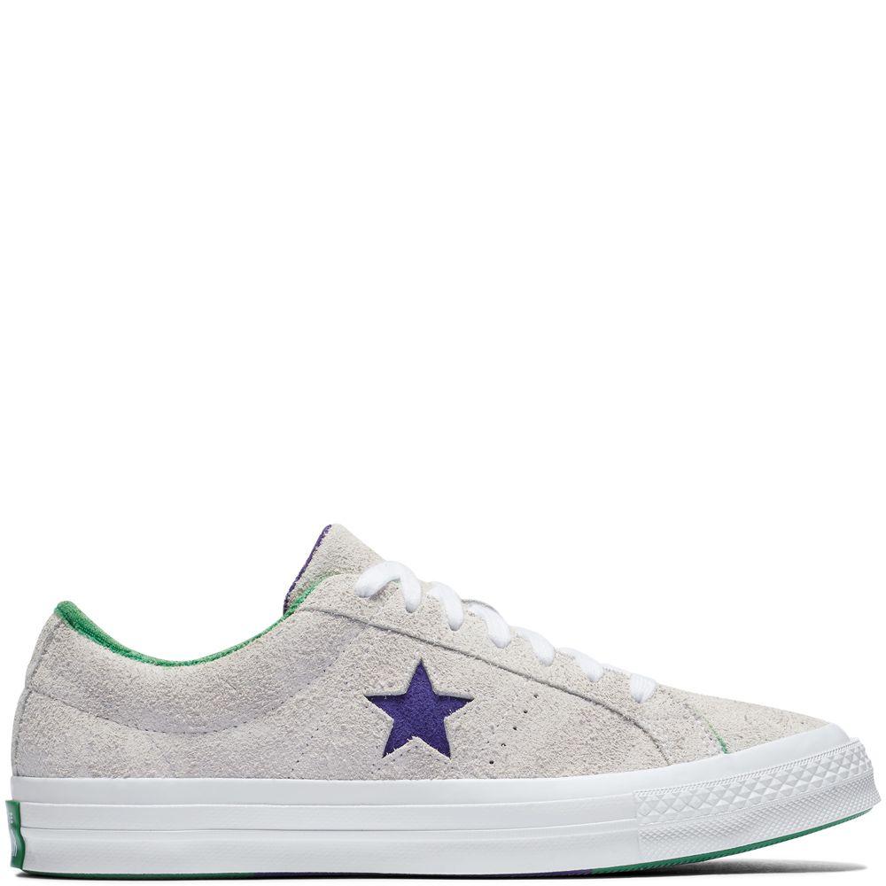 One Star Grand Slam White/Court Purple