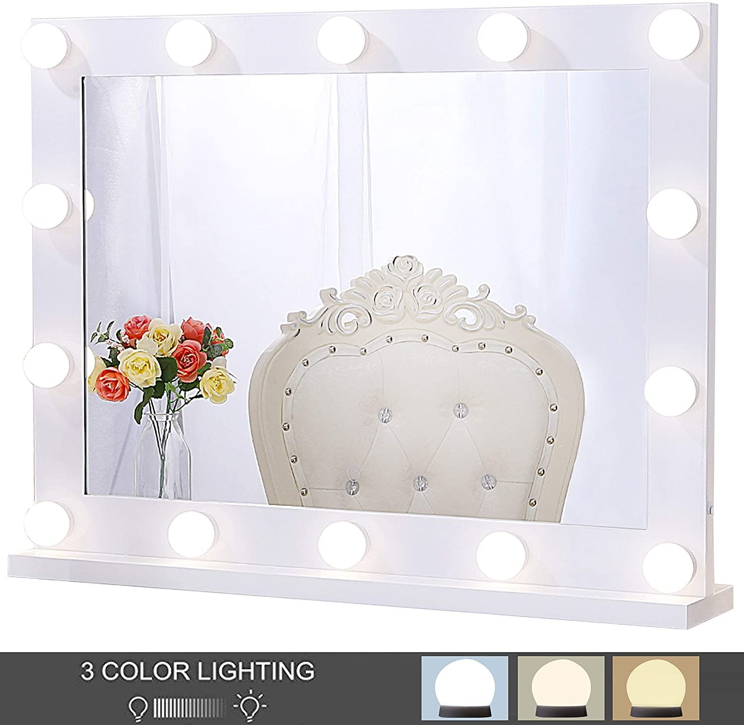 Best Hollywood Vanity Makeup Mirrors with Lights Review