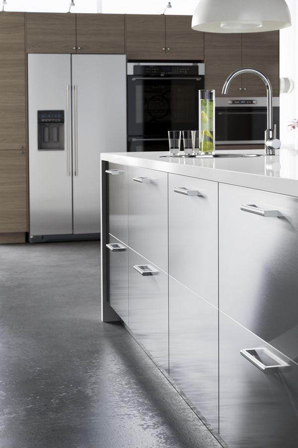 Ikea Us Furniture And Home Furnishings Replacing Kitchen Countertops Stainless Steel Kitchen Cabinets Ikea Kitchen