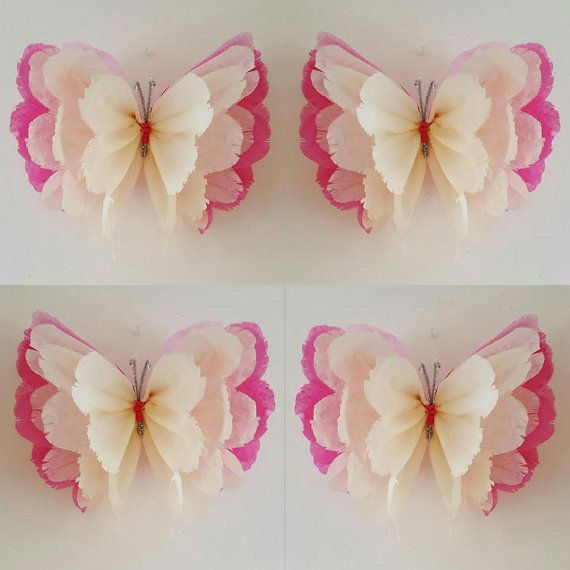 1 pared flor mariposa 1 chicas cumplea os fiesta por for Decoracion para pared para cumpleanos
