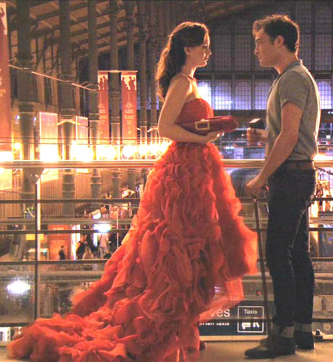 """Double Identity"" 4x2 Chuck: I destroyed the only thing I ever loved. Blair: I don't love you anymore. But it takes more than even you to destroy Blair Waldorf. Chuck: Your world would be easier if i didn't come back. Blair: That's true. But it wouldn't be my world without you in it"