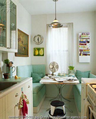 Vintage chic decoraci n vintage para tu casa vintage - Mesas cocina vintage ...