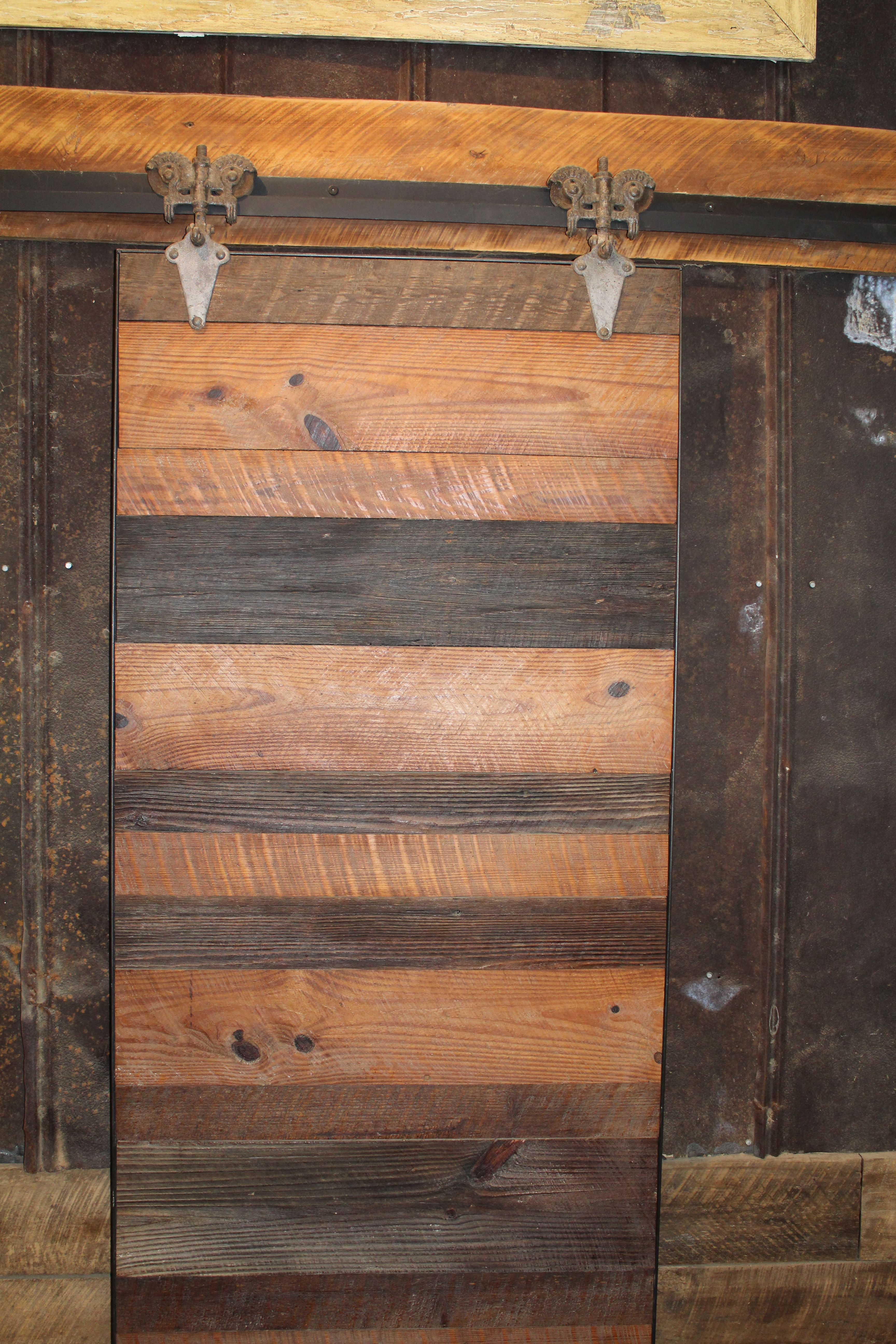 Handmade Barn Door On Display And For Sale In Our Shop Right Now