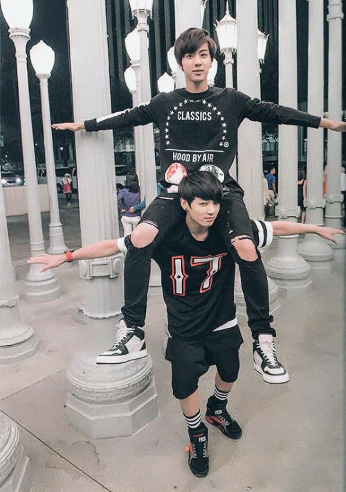 JinKook || BTS Jin & Jungkook || Bangtan Boys Kim Seokjin