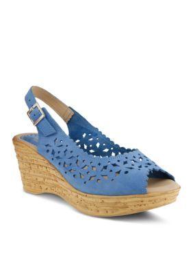 Spring Step Chaya Wedge Sandal | Spring step sandals, Spring
