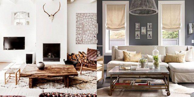 Interior Design Inspiration: Rustic Chic  - HarpersBAZAAR.com