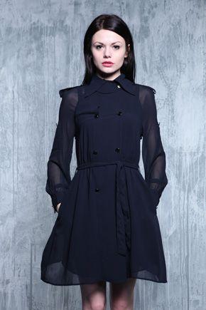 Mina Trench Coat Dress