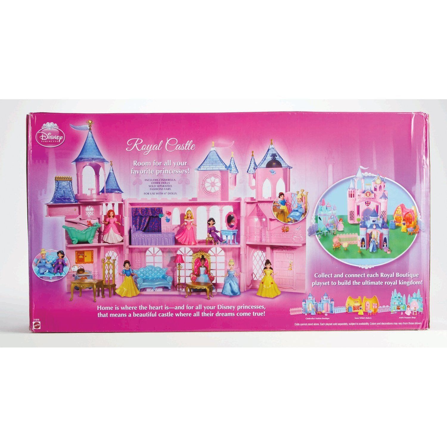 Polly Pocket Disney Princess Castle Fashion and Fun For