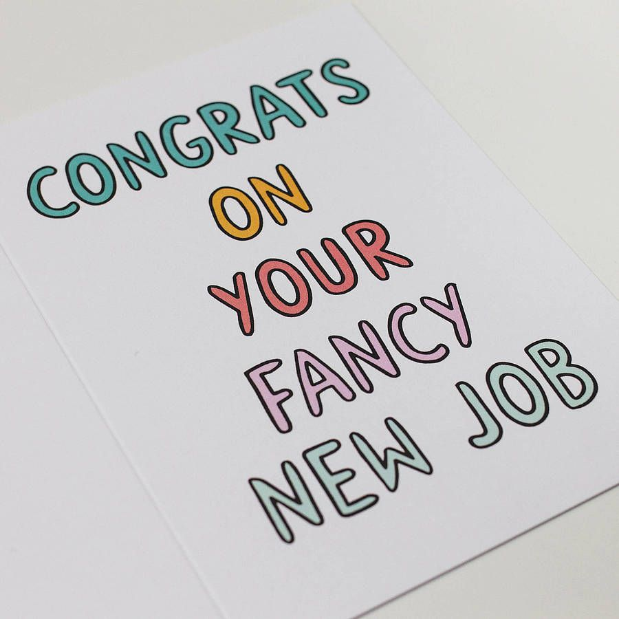 congratulations speech for new job How to congratulate someone and george are expecting a new baby this year congratulations congratulating your colleagues on their new promotion or job.