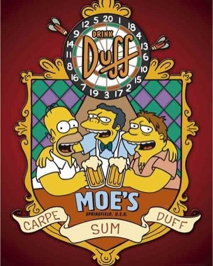 A All Time Favorite Love Thesimpsons Geek Simpsons Art The Simpsons The Duff
