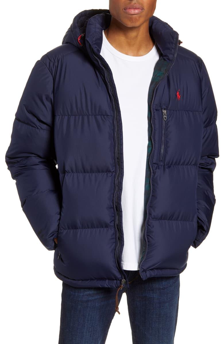 Polo Ralph Lauren Jackson Hooded Down Puffer Coat Down